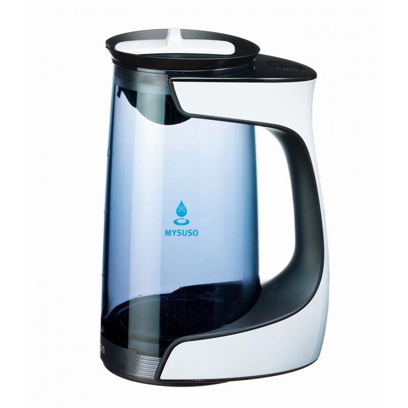 Adecuado para el hogar y los Negocios 4YANG generador de Agua de hidr/ógeno microelectr/ólisis m/áquina de electr/ólisis de Agua port/átil Taza de termostato de 2 l con termostato t/áctil Digital LED